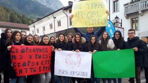 La Fiaccola olimpica a Tolmezzo